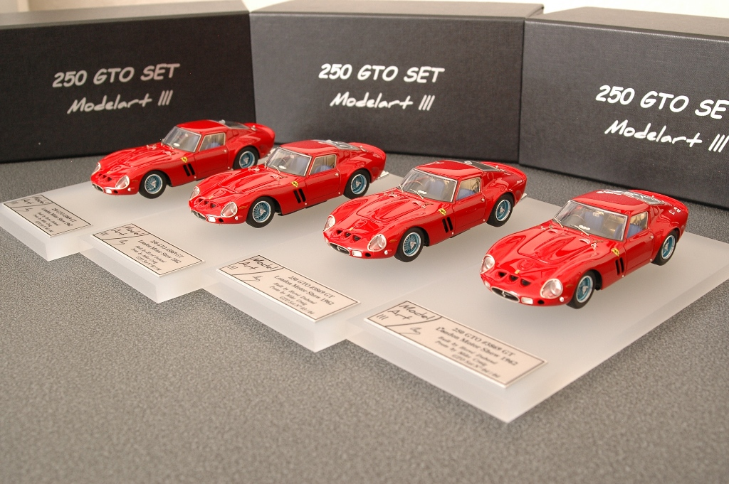 Modelart111 250 GTO Set : #3869 London Motor Show 1962